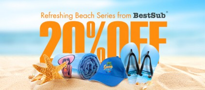 20% Discount for Essential Beach Series from BestSub