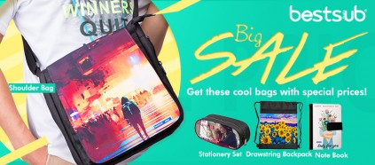 Big Sales Today! Get these cool bags with special price!