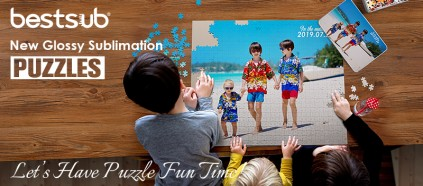 New Sublimation Puzzles Arrived! Let's Have Puzzle Fun Time!