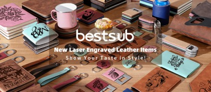 Get BestSub New Engraved Leather Items & Show Your Taste in Style!