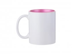 Sublimation 11oz Inner Sparkle Mug (Pink)