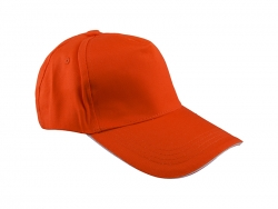 Cotton Cap (Orange)