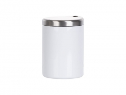 10oz/300ml Sublimation Stainless Steel Lowball Glass (White)