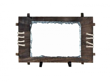 Medium Rectangular Stone with Frame(18*26cm)