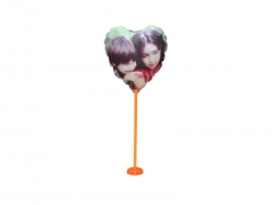 28cm Photo Balloon (Heart)
