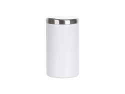 13oz/400ml Sublimation Stainless Steel Lowball Glass (White)