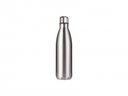 25oz/750ml Stainless Steel Cola Bottle (Silver)