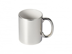 Sublimation 11oz Silver Plated Ceramic Mug