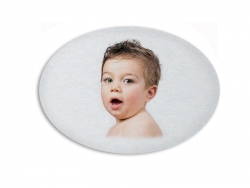 Sublimation Fridge Magnet-Oval (9.5*6.5cm)