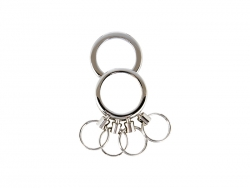 Key Ring (4 Circles)