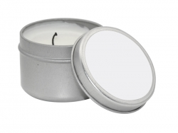 Candle Metal Tin