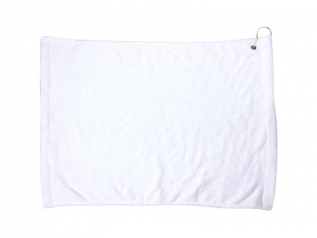 Sublimation 40*63cm Golf Towel w/ Grommet (16 in.X25 in.)