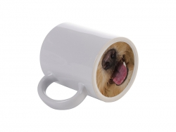 Sublimation 11oz Funny Nose Ceramic Mug (Dog Tongue)