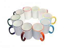 15oz Rim/Handle Mugs