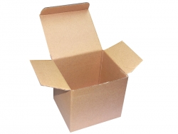 Brown Cardboard Mug Box