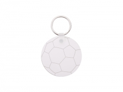 Football Pattern HB Keyring (D5.5cm)