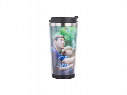 Sublimation 350ml Stainless Steel Tumbler with Photo Insert