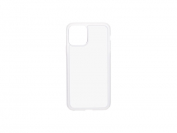 iPhone 11 Pro Cover (Rubber, Clear)