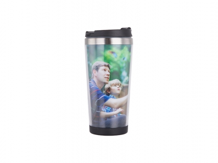 Sublimation 450ml Stainless Steel Tumbler with Photo Insert