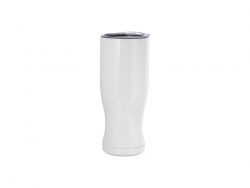 20oz/600ml Sublimation Stainless Steel Pilsner Style Tumbler (White)