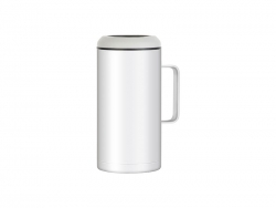 47oz/1400ml Sublimation Stainless Steel Beer Cooler (White)