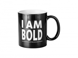 Sublimation 11oz Engraving Color Changing Mug (Bold Motto)
