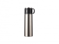 17OZ/500ml Sublimation Stainless Steel Bottle (Silver)