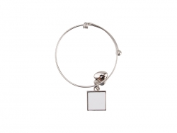 Adjustable Photo Bracelet W/ Insert (One Square)