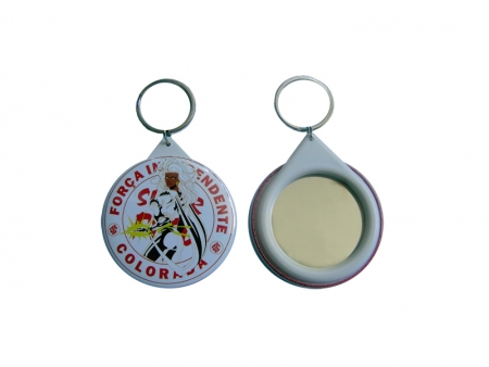 Sublimation 58mm Key Ring Buttons