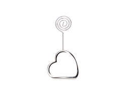 Desktop Message Holder (Heart Base)