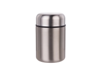 13oz/380ml Stainless Steel Food Jar (Silver) MOQ:500