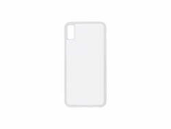 iPhone XR Cover (Rubber, White)