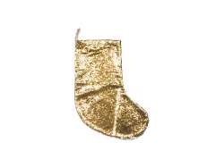 Sequin Christmas Stocking (Gold/Silver, 18*53cm)