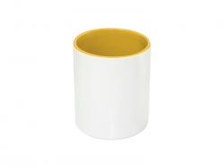 11oz Pencil Holder (Yellow)