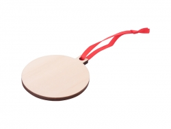 Plywood Christmas Ornament (Ball)