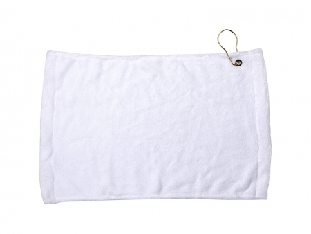 Sublimation 28*43cm Golf Towel w/ Grommet(11 in.x17 in.)